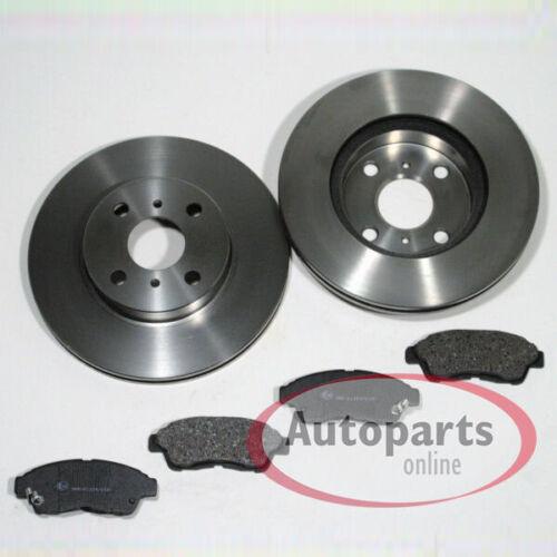 Bremsscheiben Bremsbeläge Bremstrommel Set für vorne hinten Toyota Corolla e11