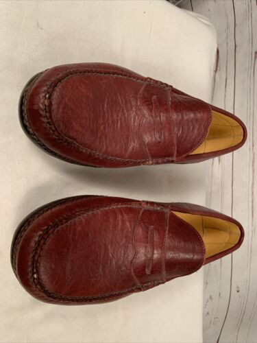 Willymoc Leather Moccasin Men Sz 10.5/11 E Brown