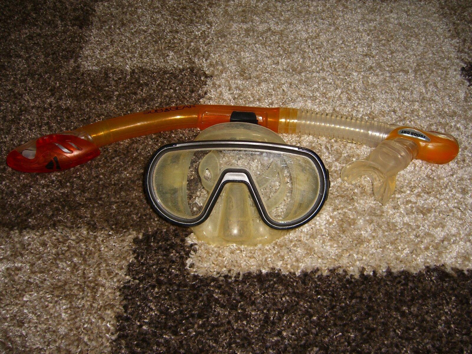 SUB SUB SUB Gear Schnorchel Fusion Dry und Taucherbrille 0bce1f