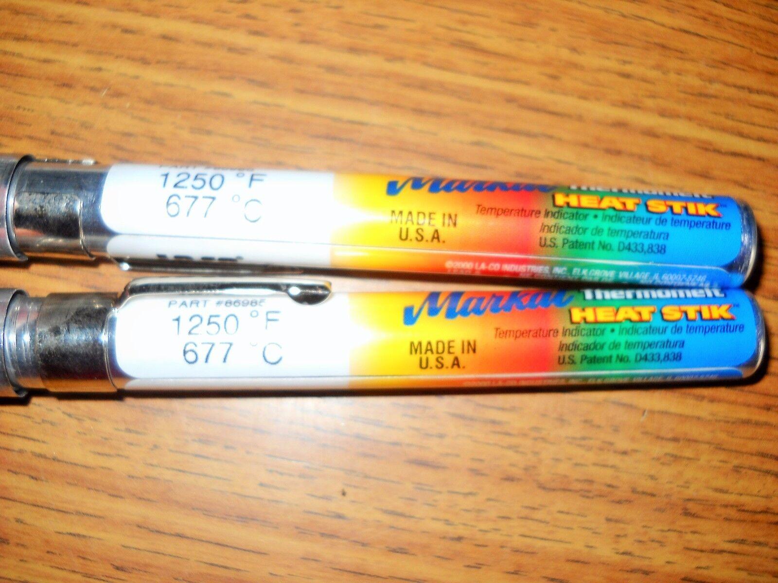 125F//54C MARKAL Thermomelt HEAT-STIK Temperature Indicating Stick