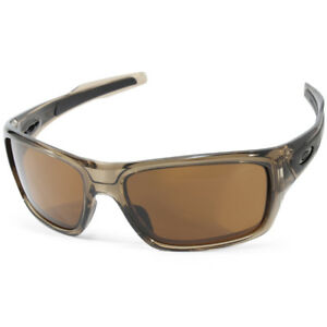 oakley turbine oo9263 02 brown smoke dark bronze men s sports rh ebay co uk oakley turbine xs oakley turbine size