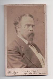 Vintage-CDV-Unknown-Man-Civil-War-Era-Hartley-Photo