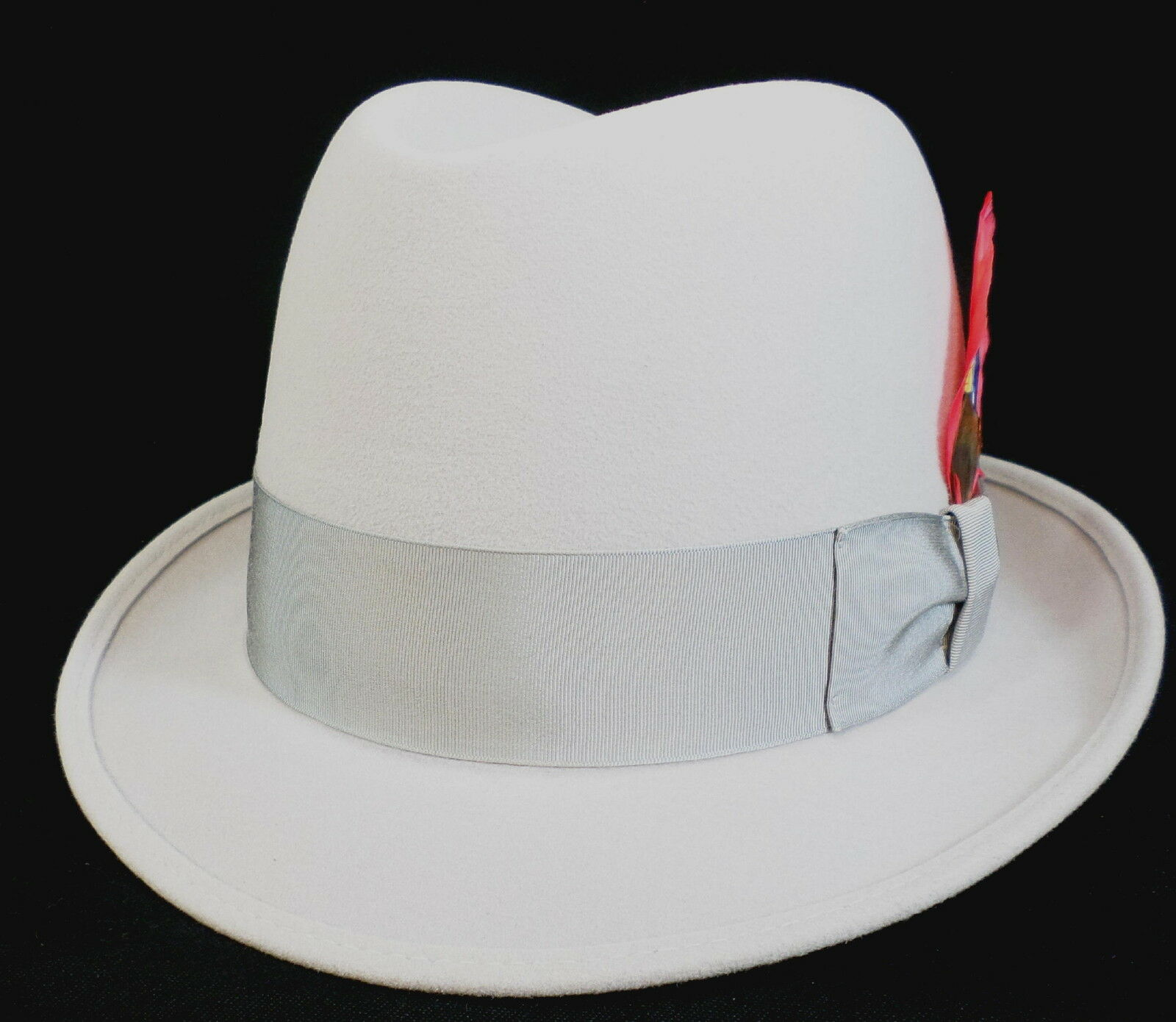 Reed Hill Blend Snap Brim Light grigio Fur Blend Hill 7 - MADE IN USA 94a82f