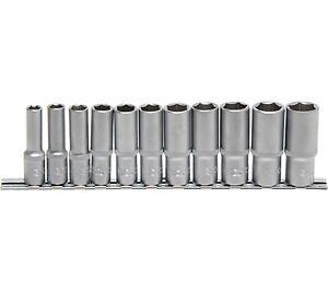 Ecrou-Socket-Ecrous-Longs-6-Kant-Ecrou-3-8-034-11-Pieces-8-19-mm-BGS-2222