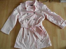 GIL BRET schöner sommrlich leichter Trenchcoat rosa Gr. 38 TOP RC815