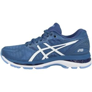 cost charm buying now official store Details zu Asics Gel-Nimbus 20 Women Damen Laufschuhe Running Sneaker azure  white T850N-401