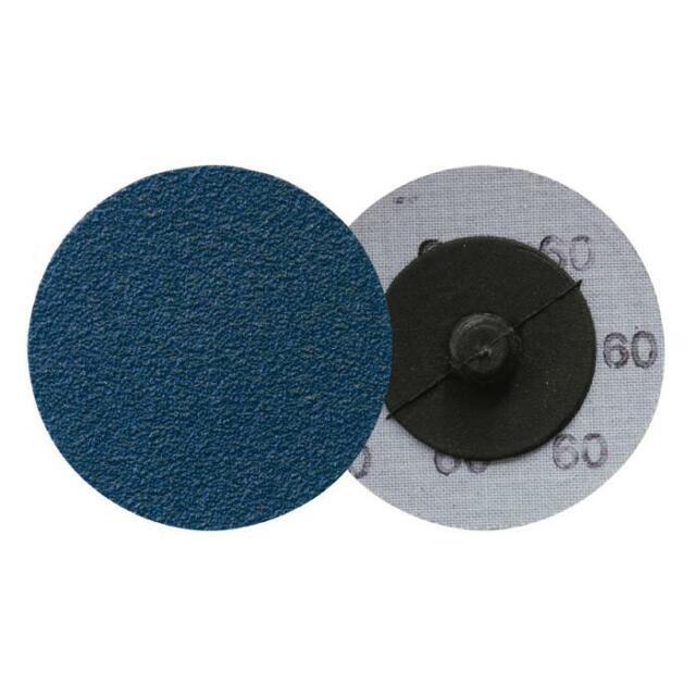 Quick Change ROLOC Disc 76mm BLUE Sanding QRC411 KLINGSPOR