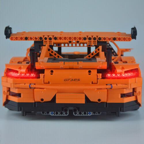 Upgraded LED Light Up Kit For LEGO 42056 LEGO Porsche 911 GT3 RS Technic
