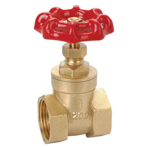 Logi Válvula Válvula de compuerta de latón rosca hembra, presión máxima de 1600kPa - 32mm 40mm o 50mm