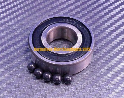 QTY 10 15x24x7 mm Hybrid Ceramic Ball Bearing Bearings 63802RS 63802-2RS
