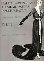 Fashion Drawings And Illustrations From harper's Bazar By: Erté