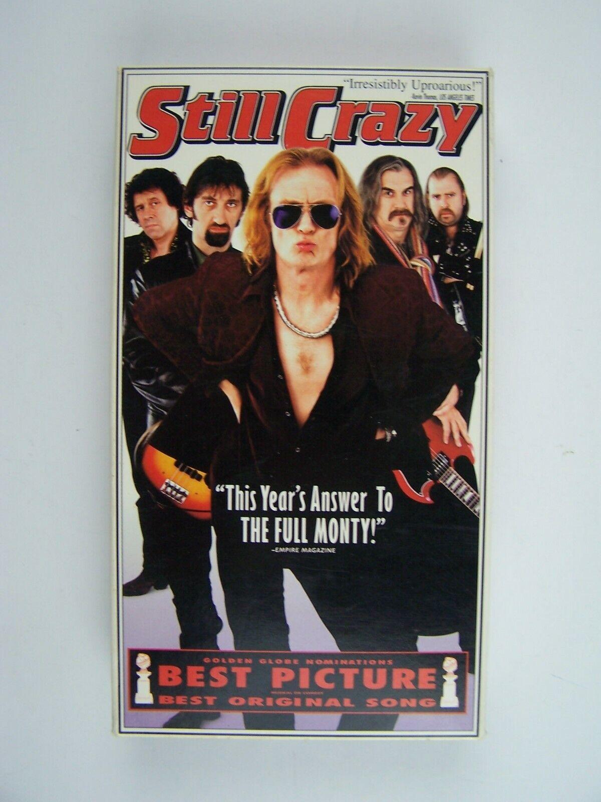 Still Crazy VHS Stephen Rea, Billy Connolly, Jimmy Nail