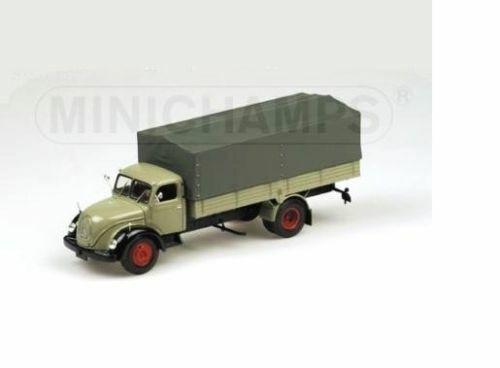 ventas en linea Magirus-Deutz S6500 S6500 S6500 Lona 1955 camión camión 439141020 Minichamps 1 43 Nuevo en un bo   mejor oferta