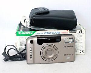Fujifilm-Fotonex-250ix-Zoom-25-55mm-APS-Film-Camera-Point-and-Shoot-P-amp-S