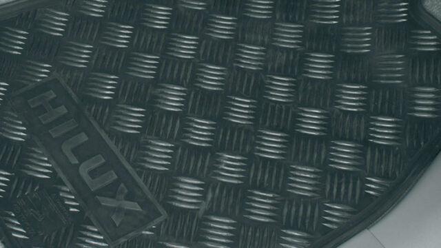 Genuine Toyota Hilux Front Rubber Floormats Feb 2005 - Aug 2011 PZQ20-89031