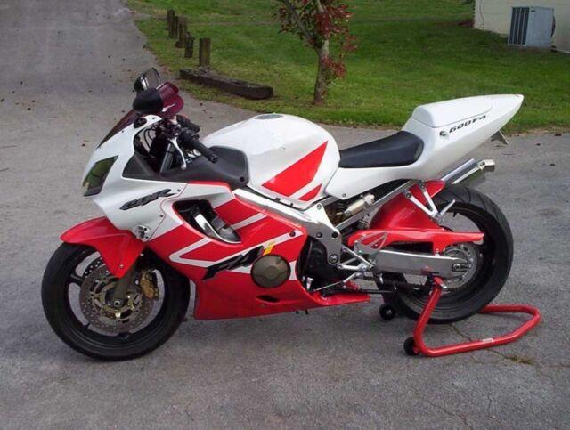 Red White Complete Injection Fairing Kit For 2001 2002 2003 Honda