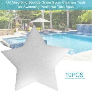 10pcs Octopus Swimming Pool Sponge Filter Cleaner Scum Sponge For Swimming Pool Hot Tub Spa Pool Filter Oil Absorbing Scum Sponge Absorb Sludge Dirt