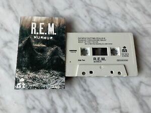 R.E.M Murmur CASSETTE Tape 1983 I.R.S/A&M CS 70014 Michael Stipe RARE! OOP!