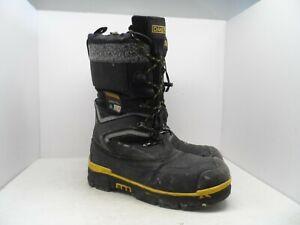 75b3a7055e0b5 Details about DAKOTA Men's 8530 Steel Toe Steel Plate Safety Winter Felt  Pack Boots Black 13M