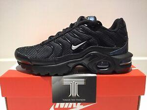 Détails sur Nike Air Max Plus TN (GS) ~ CQ7515 001 ~ jeunesse Taille UK 3 ~ Euro 35.5 afficher le titre d'origine