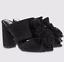 Ladies-Shoes-Black-M-amp-S-Faux-Suede-Mules-Insolia-UK-4-5-37-5-US-6-5-BNWT-Marks thumbnail 1