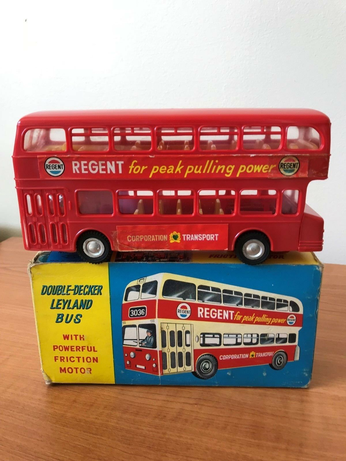 Fricción nfic - 3036 con Atlante Autobús