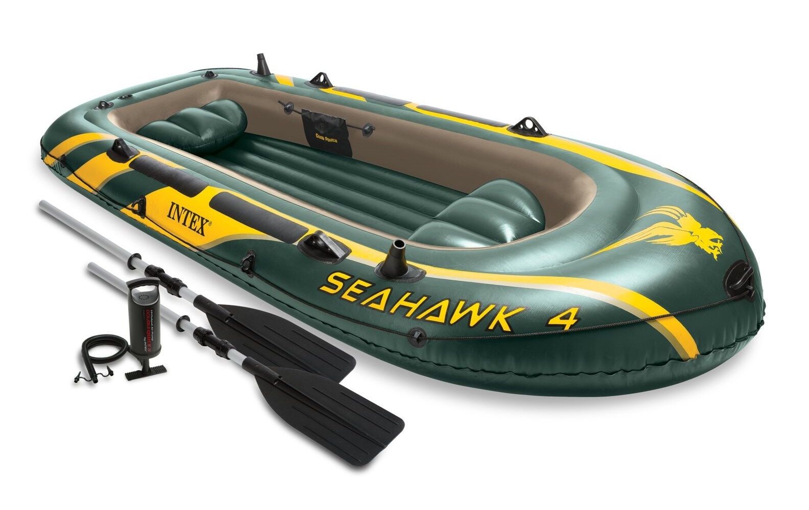 Intex - Rubber Dinghy Set Seehawk 4 68351np