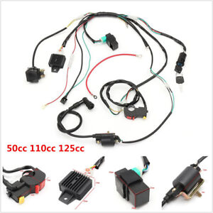 CDI Wire Harness Stator Assembly Wiring Harness For Chinese ATV Quad 50cc-125CC  | eBayeBay