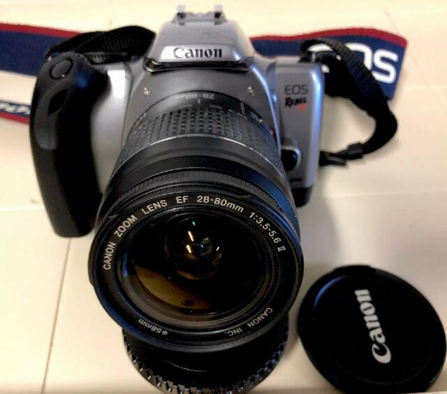 Canon Rebel K2 Camera W  Canon Zoom Ef 28 5 6