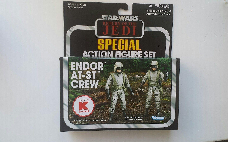 Star Wars Endor AT-ST Crew Kmart New and Sealed Kenner