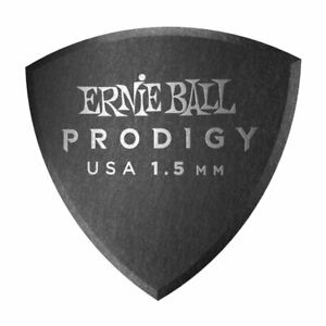 Ernie-Ball-Prodigy-Shield-plectrums-picks-6-Pack-1-5mm-Black-9331