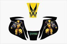 Miller Elite Welding Helmet Wrap Decal Sticker Skins Jig Mp10 Wolverine Marvel