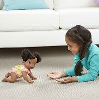 Baby Alive Baby Go Bye Bye (african American) Doll Girls Birthday Gift on sale
