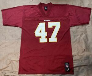 Details about #47 Chris Cooley Reebok Washington Redskins Jersey Size Large
