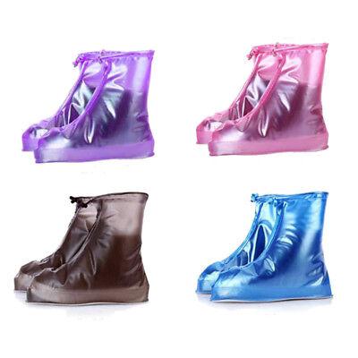 Copriscarpe Stivali da Pioggia in Plastica Lucido