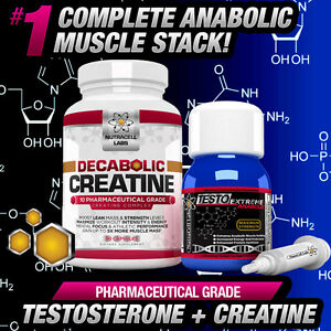 Details about 4X TESTO ANABOLIC +FREE DECABOLIC CREATINE -STRONGEST NON  STEROIDS MUSCLE BOOST!
