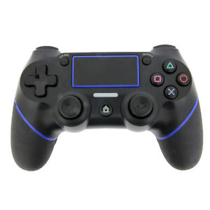 Black-Wireless-Bluetooth-Game-Controller-Pad-For-Sony-PS4-Playstation-4