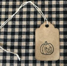 WHOLESALE ~ 300 Small Primitive Coffee Stained Antique store Price Hang Tags lot