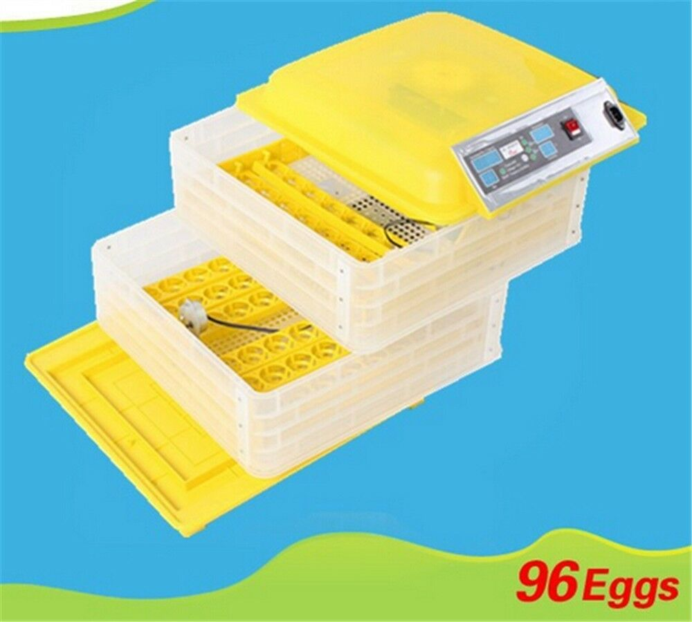 alta qualità Egg Incubator Hatcher 96 Digital Digital Digital Clear Temperature Control Automatic Turning New  basso prezzo del 40%