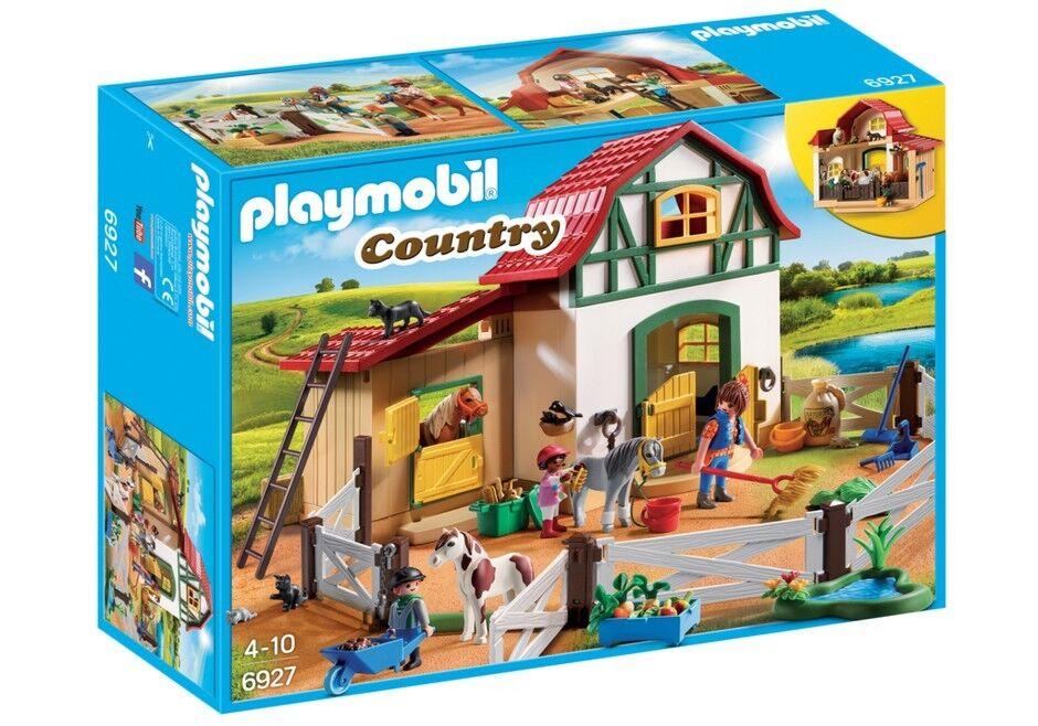 Spielset Reiten der PONY Playmobil Country 6927 PONY FARM HOUSE neu new