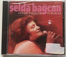 SELDA BAGCAN - GUVERCINLERIDE VURURLAR  CD ALBUM SEALED TURKISH