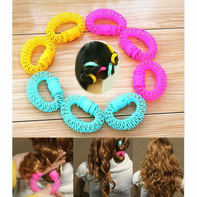 Chic Hairdress Magic Bendy Hair Styling Roller Curler Spiral Curls DIY Tool 8PCS