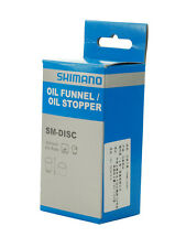 Shimano Bike Hydraulic Disc Brake Bleed Tool Kit SM-DISC Oil Funnel/Oil Stopper