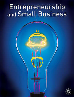 """""""AS NEW"""" Entrepreneurship and Small Business, Burns, Paul, Book"""