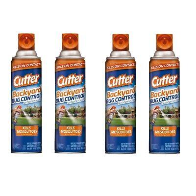 4X Cutter Backyard Bug Control Outdoor Fogger Spray 16oz ...