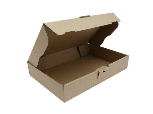 50 Maxibriefkartons 240 x 160 x 45 mm Braun Faltschachtel Warensendung Karton