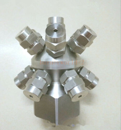 Stainless Solid Cone Nozzle Tank Wash Nozzle,Water Rotating Cleaning Nozzles