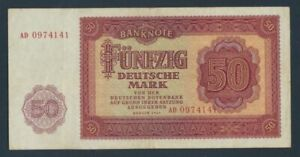 DDR-Rosenbg-352a-KN-7stellig-before-two-Letters-used-III-1955-50-Ger-9055419