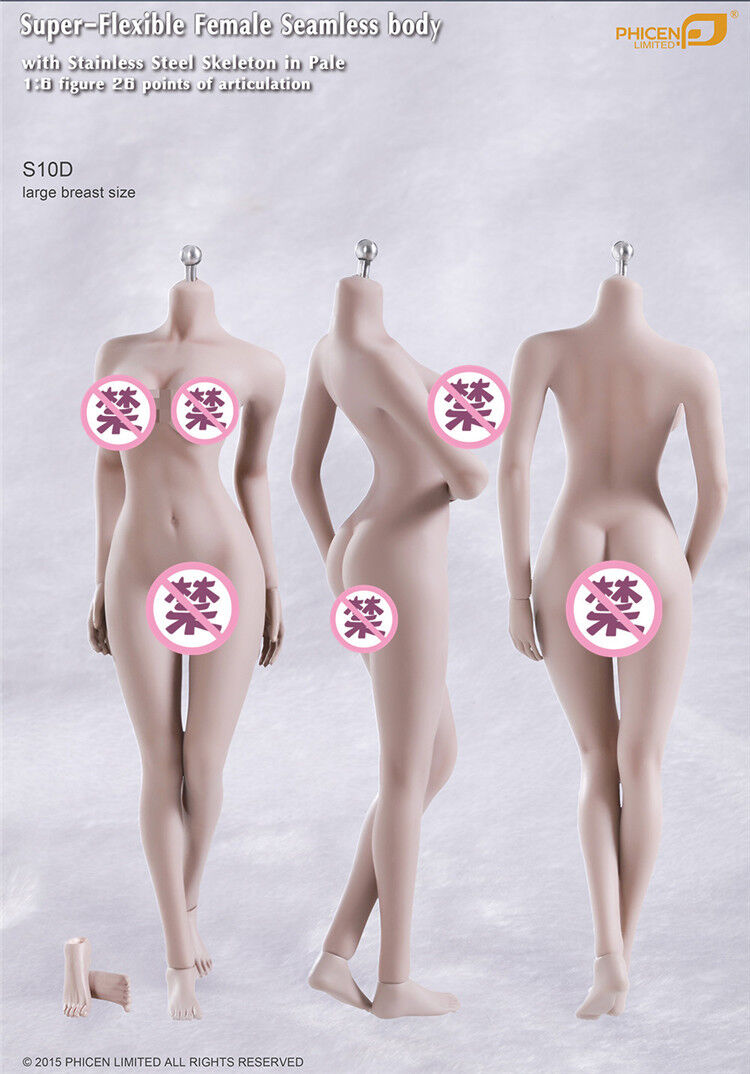 TBLeague Phicen S10D 1 6 Scale Female body For Hot toys Kumik 12in Action Figure