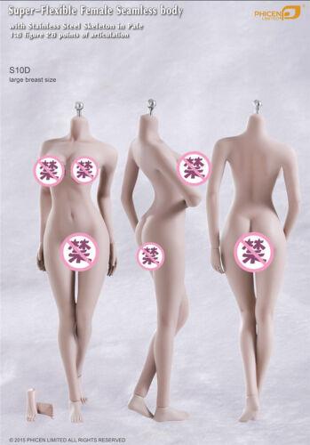 Tbleague Phicen S10D 1//6 escala cuerpo femenino para Hot Toys Kumik 12in Figura De Acción